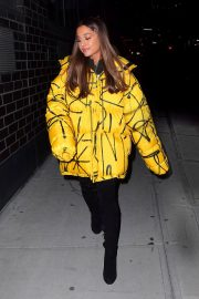 Ariana Grande Arrives at a Recording Studio in New York 2018/12/11 6