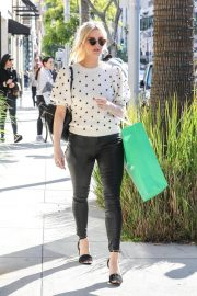 Ashlee Simpson Out Shopping in Beverly Hills 2018/12/11 12