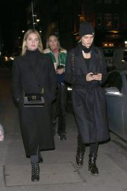 Ashley Benson and Cara Delevingne Night Out in London 2018/11/21 2