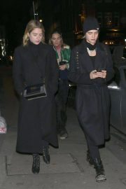 Ashley Benson and Cara Delevingne Night Out in London 2018/11/21 5