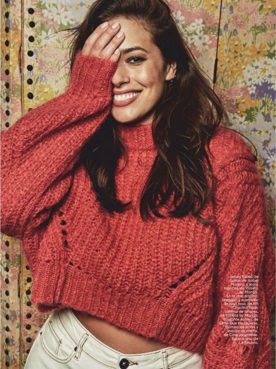Ashley Graham in Glamour Magazine, Spain January 2019 9