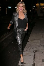 Ashley Roberts Night Out in London 2018/12/03 2