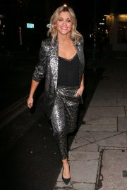 Ashley Roberts Night Out in London 2018/12/03 4