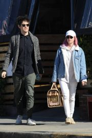 Ashley Tisdale and Christopher French at All Time Eatery in Los Angeles 2018/12/30 4