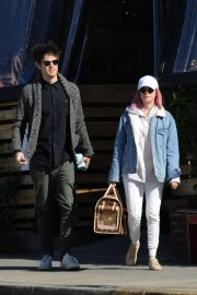 Ashley Tisdale and Christopher French at All Time Eatery in Los Angeles 2018/12/30 5