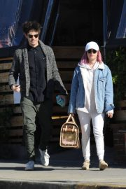 Ashley Tisdale and Christopher French at All Time Eatery in Los Angeles 2018/12/30 6