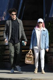 Ashley Tisdale and Christopher French at All Time Eatery in Los Angeles 2018/12/30 7