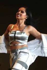 Becky G Performs at Coca-cola Flow Fest Concert at Foro Sol in Mexico City 2018/12/08 1
