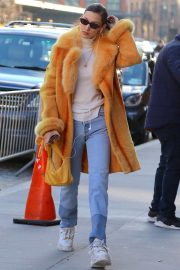 Bella Hadid Out in New York 2018/12/29 2