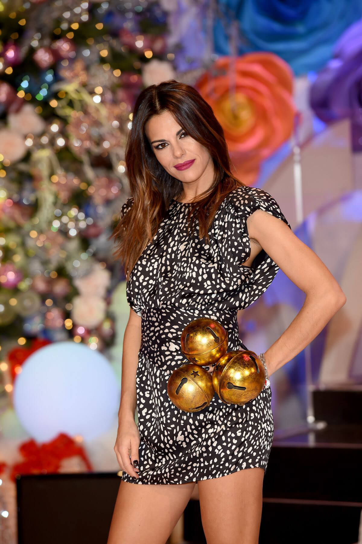 Bianca Guaccero at Rai 2 Christmas Edition TV Show Photocall in Milan 2018/12/07 1