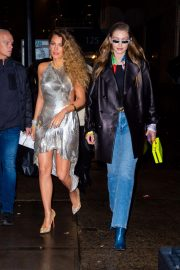 Blake Lively and Gigi Hadid Night Out in New York 2018/12/02 6