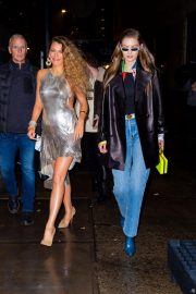 Blake Lively and Gigi Hadid Night Out in New York 2018/12/02 9