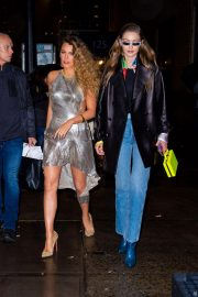 Blake Lively and Gigi Hadid Night Out in New York 2018/12/02 10