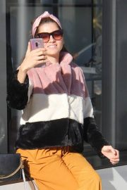 Blanca Blanco Shopping on Rodeo Drive in Beverly Hills 2018/12/26 8