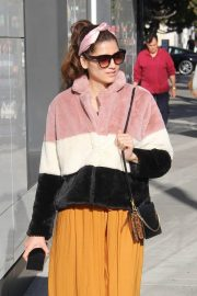 Blanca Blanco Shopping on Rodeo Drive in Beverly Hills 2018/12/26 10