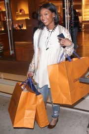 Brandy Norwood Out Shopping in Beverly Hills 2018/12/11 1
