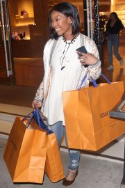 Brandy Norwood Out Shopping in Beverly Hills 2018/12/11 2