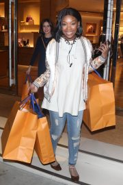 Brandy Norwood Out Shopping in Beverly Hills 2018/12/11 9
