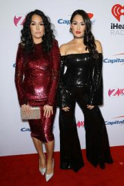 Brie Bella and Nikki Bella at Z100's Jingle Ball in New York 2018/12/07 7