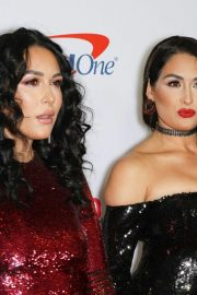 Brie Bella and Nikki Bella at Z100's Jingle Ball in New York 2018/12/07 8