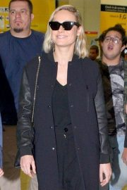 Brie Larson at Guarulhos Airport in Sao Paulo 2018/12/07 2