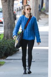 Brie Larson Heading to a Spa in West Hollywood 2018/12/02 4