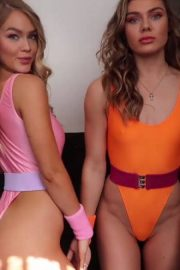 Cambrie Schroder and Faith Schroder on Day in the Life of a Photoshoot 2018 4