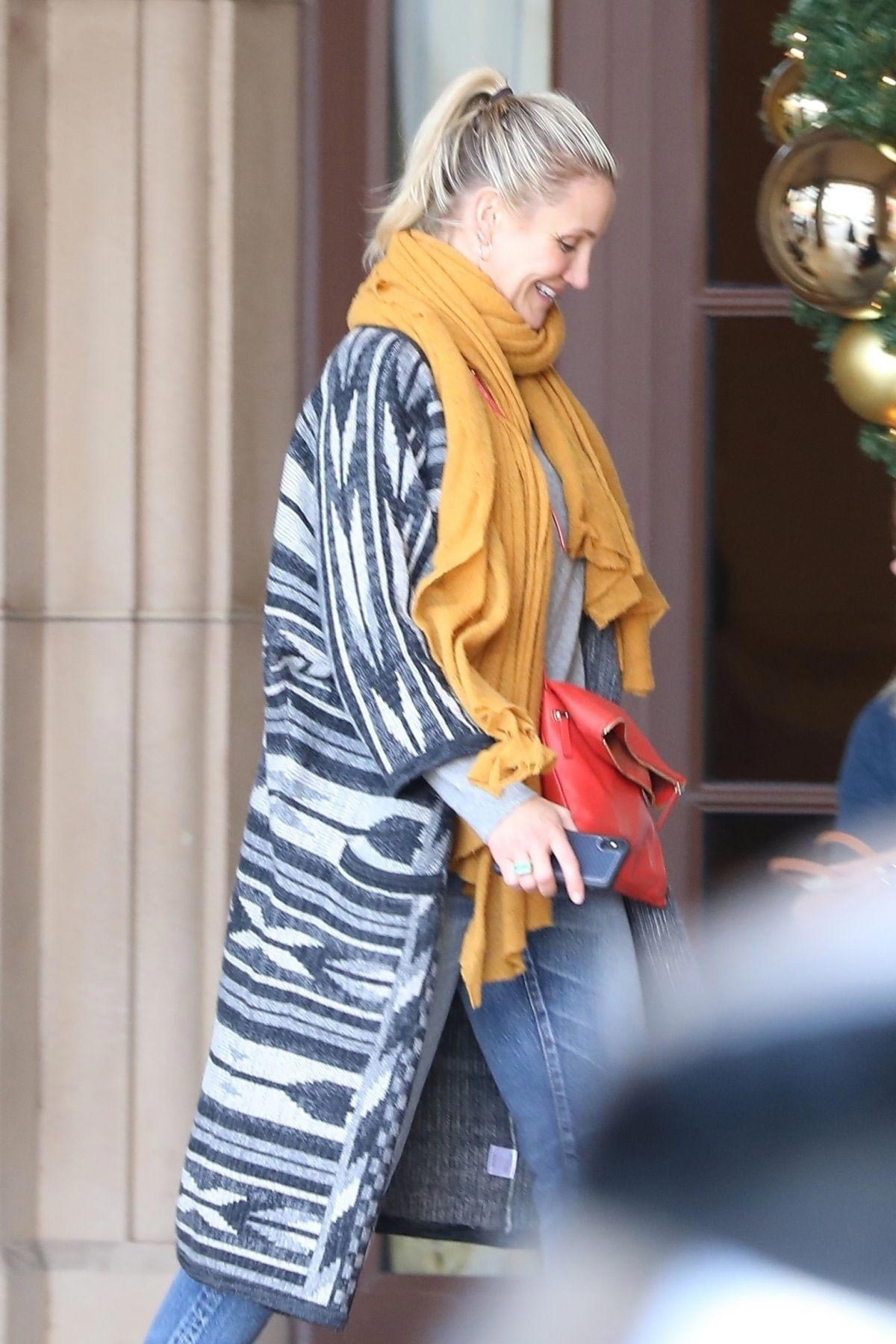 Cameron Diaz Out for Lunch at Montage Hotel in Los Angeles 2018/11/30 1