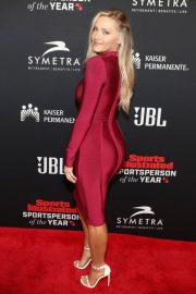 Camille Kostek at Sports Illustrated 2018 Sportsperson of the Year in Los Angeles 2018/12/11 2