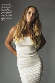 Caroline Wozniacki in Vogue Magazine, January 2019 2