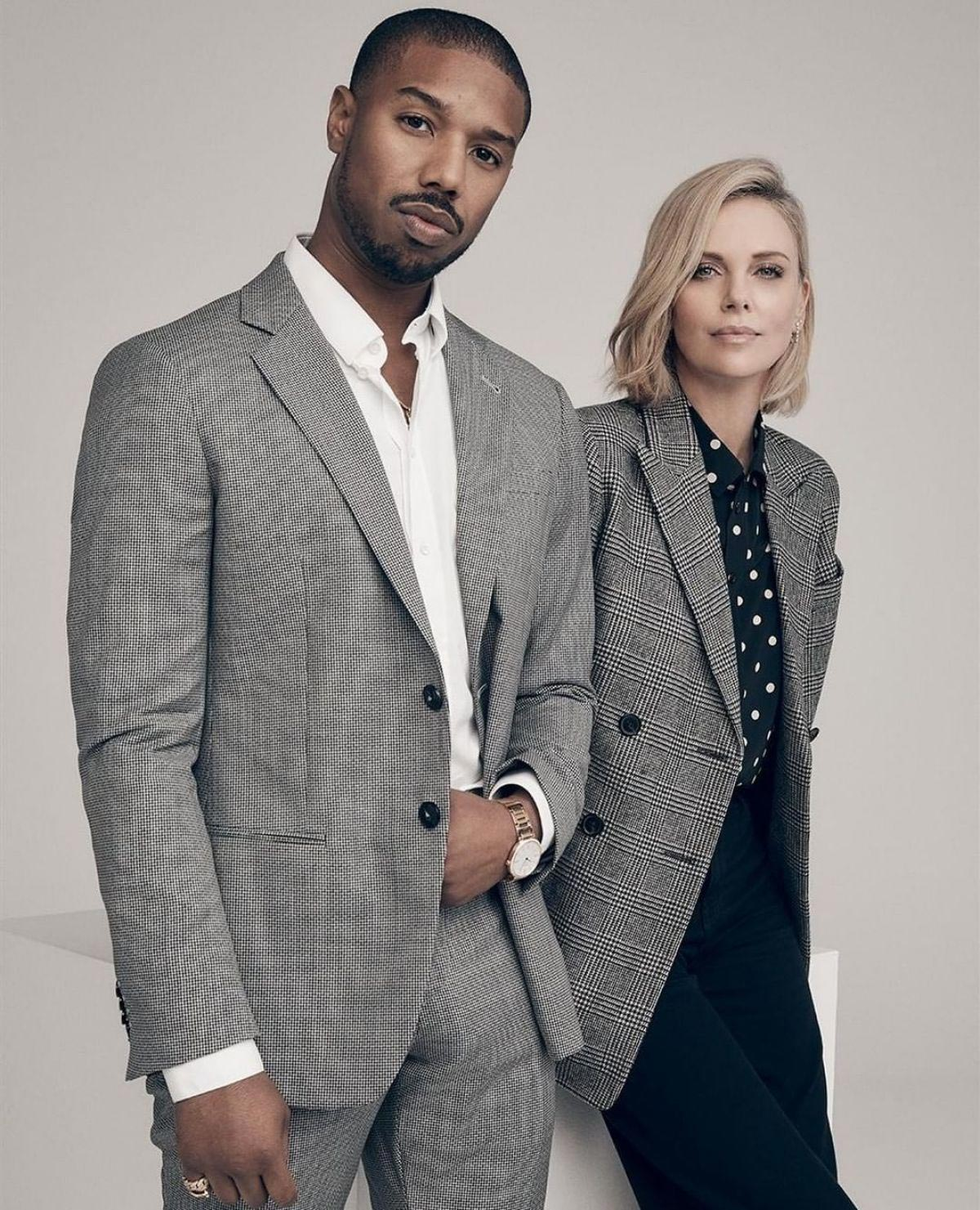 Charlize Theron and Michael B. Jordan for Variety Magazine, December 2018 1