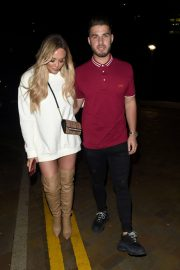 Charlotte Crosby and Josh Ritchie at Menagerie Bar in Manchester 2018/12/26 4