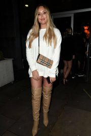 Charlotte Crosby and Josh Ritchie at Menagerie Bar in Manchester 2018/12/26 6
