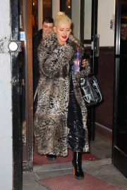 Christina Aguilera Leaves New Year Eve Rehearsal in New York 2018/12/30 2