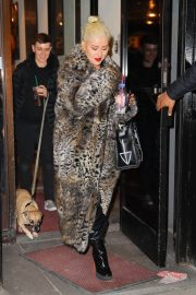 Christina Aguilera Leaves New Year Eve Rehearsal in New York 2018/12/30 7