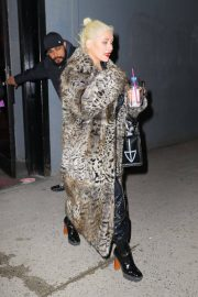 Christina Aguilera Leaves New Year Eve Rehearsal in New York 2018/12/30 8
