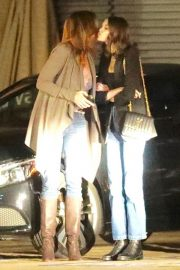 Cindy Crawford and Kaia Gerber Out for Dinner at Nobu in Malibu 2018/12/27 10