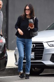 Courteney Cox in Denim Out Shopping in West Hollywood 2018/12/05 9