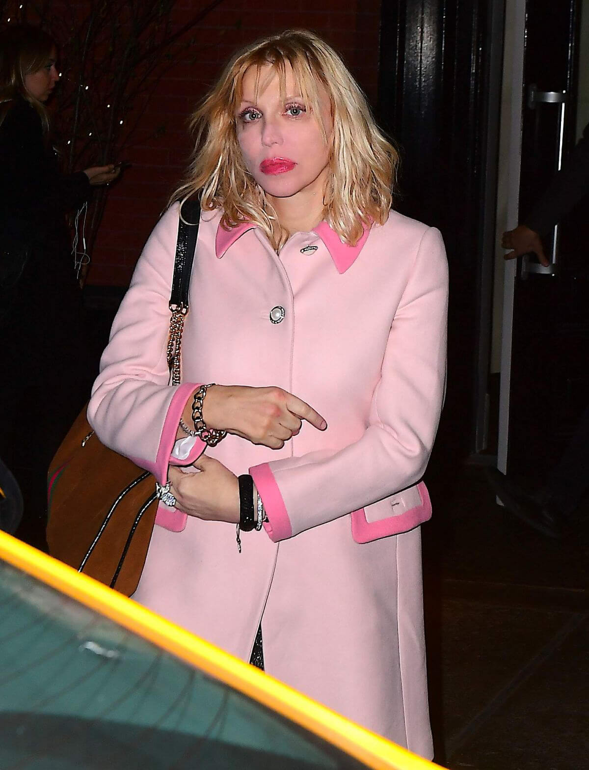 Courtney Love at Mercer Kitchen in New York 2018/12/11 1