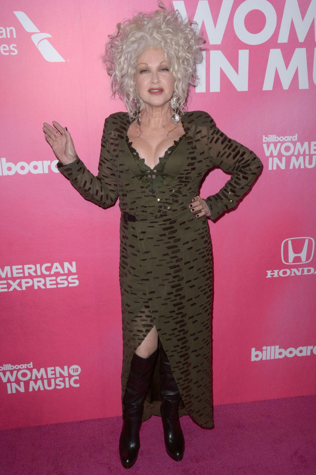 Cyndi Lauper at Billboard Women in Music 2018 in New York 2018/12/06 1