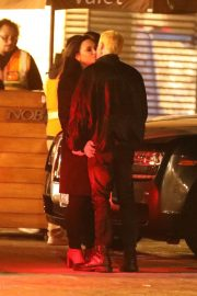 Demi Lovato and Henry Levy at Nobu in Malibu 2018/12/08 5
