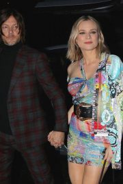 Diane Kruger and Norman Reedus Arrives at Versace Fashion Show in New York 2018/12/02 2