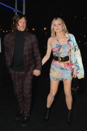 Diane Kruger and Norman Reedus Arrives at Versace Fashion Show in New York 2018/12/02 7