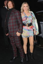 Diane Kruger and Norman Reedus Arrives at Versace Fashion Show in New York 2018/12/02 8