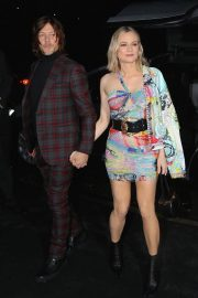 Diane Kruger and Norman Reedus Arrives at Versace Fashion Show in New York 2018/12/02 9