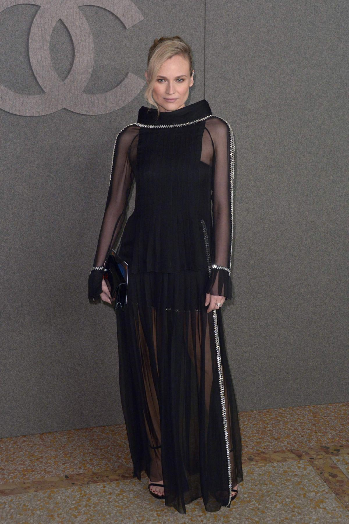 Diane Kruger at Chanel Metiers D'Art Show Pre-fall 2019 in New York 2018/12/04 1