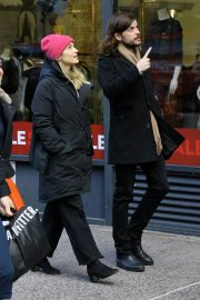 Dianna Agron and Winston Marshall Out in New York 2018/12/29 2