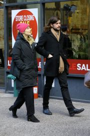 Dianna Agron and Winston Marshall Out in New York 2018/12/29 3