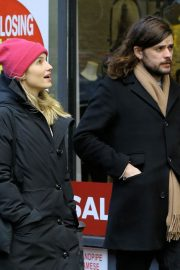 Dianna Agron and Winston Marshall Out in New York 2018/12/29 5