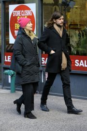 Dianna Agron and Winston Marshall Out in New York 2018/12/29 7
